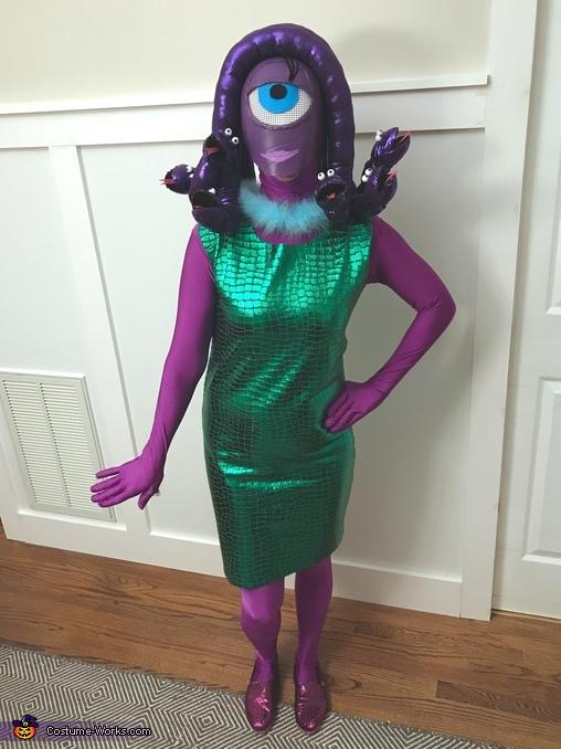 Celia Costume, Monsters Inc. Costume