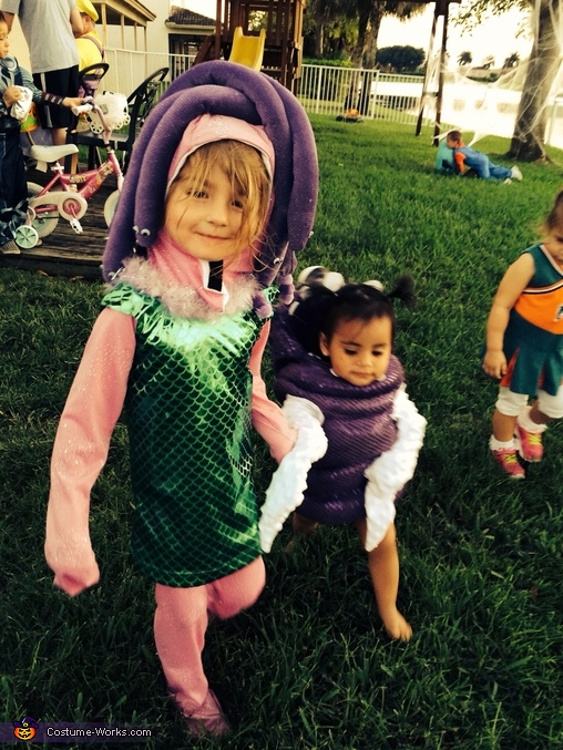 Celia and Boo Monsters Inc. , Monsters Inc. Family Costume