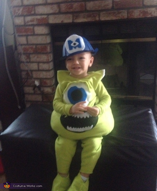 Monsters Inc Mike Wazowski Toddler Costume Diy Costumes Under 45 Photo 2 2