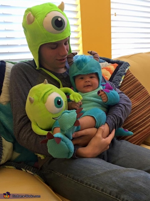 I love my big brother:), Monster's Inc. Sulley Costume
