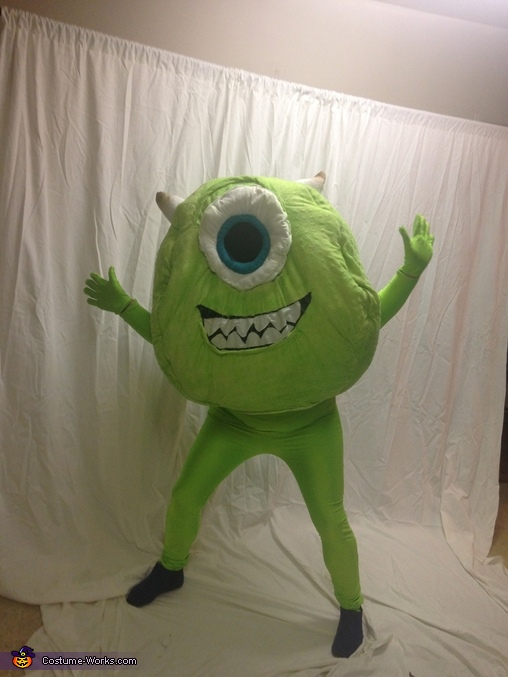 Mike, Monsters Inc. Sully and Mike Costume