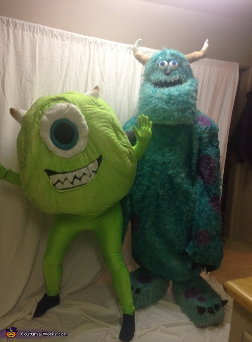 Monsters Inc. Sully and Mike Costume