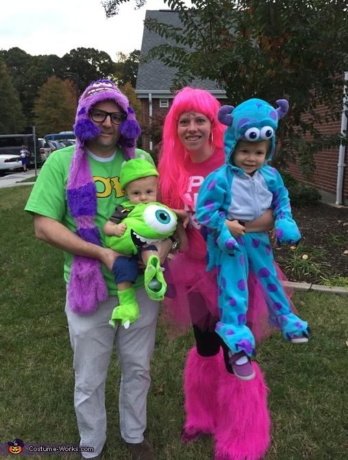 Monsters University Family Costume