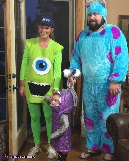Monters Inc Boo Costume