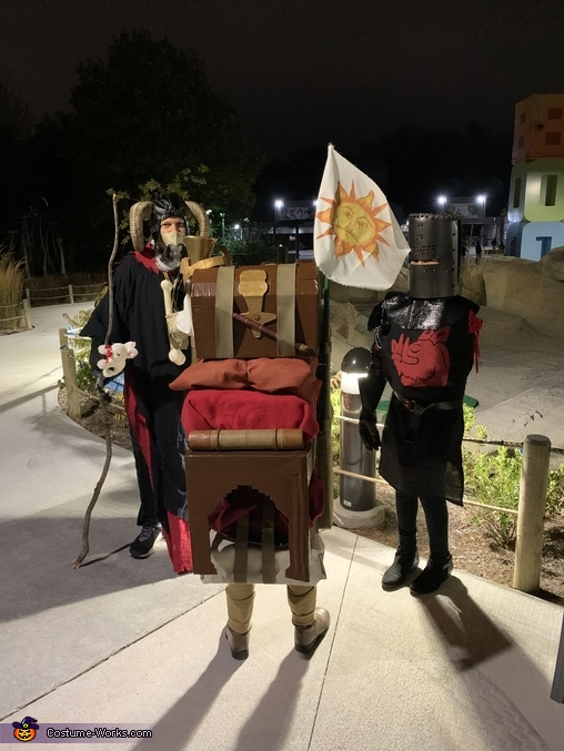 Patsy's gear, Monty Python and the Holy Grail Costume