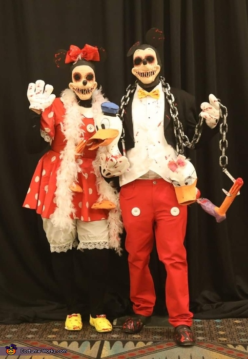 Morbid Disney's Mickey and Minnie Mouse Costume