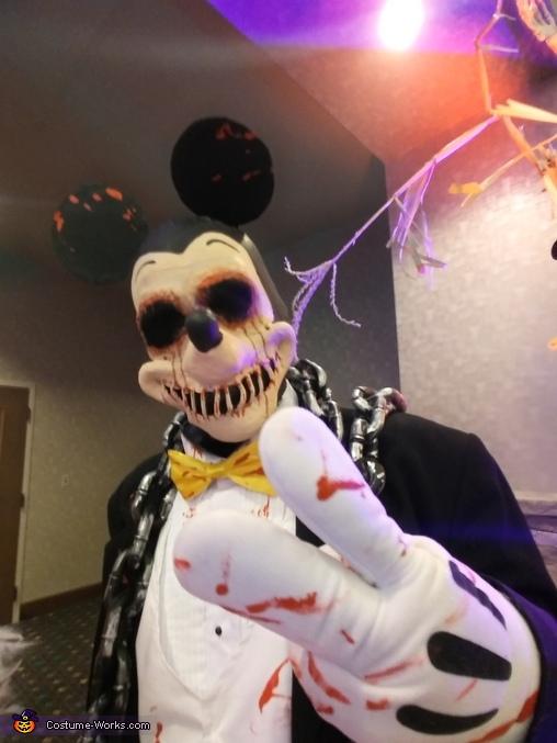 Morbid Disney's Mickey and Minnie Mouse Homemade Costume