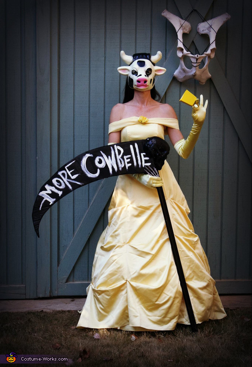 More Cow-Belle Costume