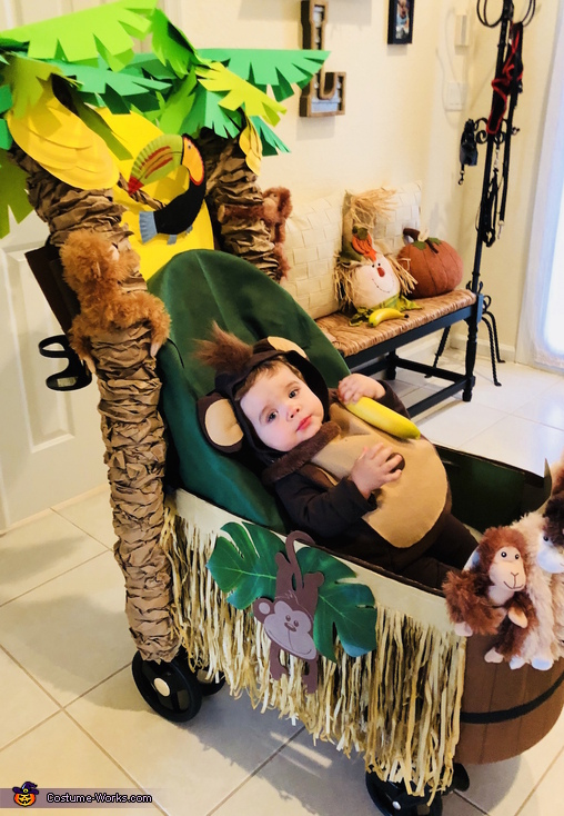 More Fun than a Barrel of Monkeys Homemade Costume