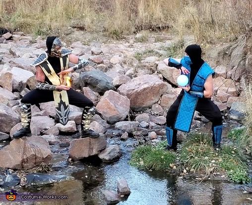 fire and ice, Mortal Kombat Costume