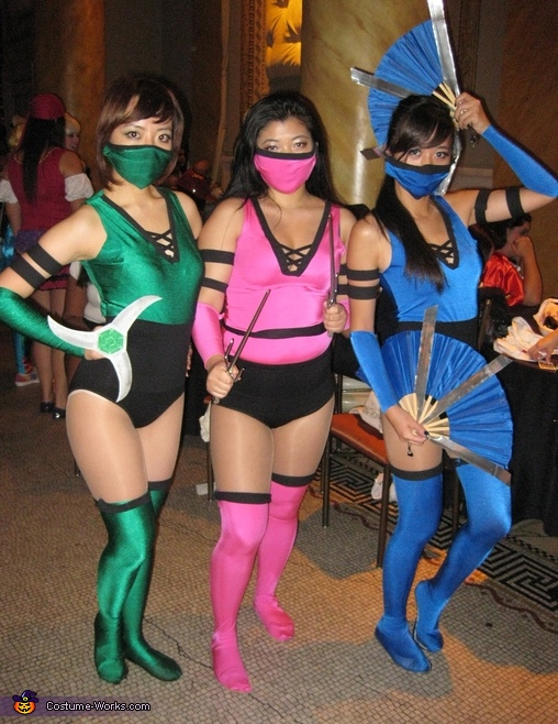 Mortal Kombat Group Costume