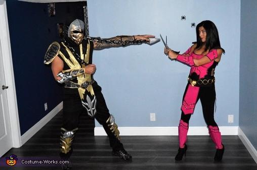 Mortal Kombat Family Homemade Costume