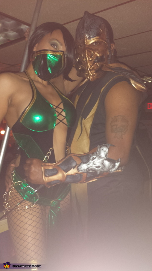 Mortal Kombat Jade & Scorpion Homemade Costume