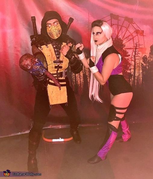 Mortal Kombat Sindel Vs Scorpion Costume Mind Blowing Diy Costumes