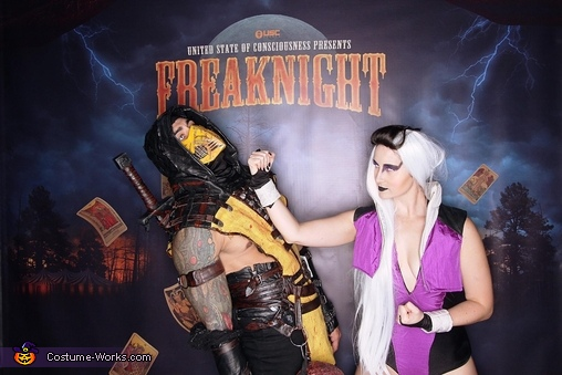 Finish Him!, Mortal Kombat: Sindel vs Scorpion Costume