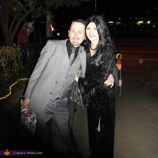 Morticia and Gomez Addams Costume