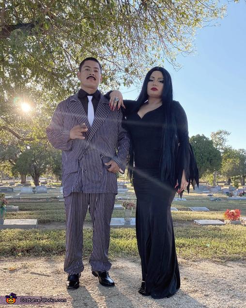 Morticia & Gomez Costume