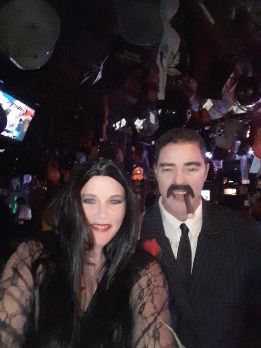 The Adams Family Favorites, Morticia and Gomez Costume