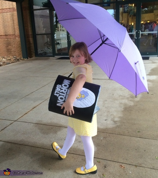 When it Rains it Pours, Morton Salt Girl Costume