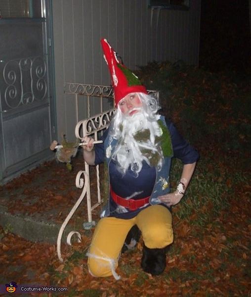 Mossy Yard Gnome Costume