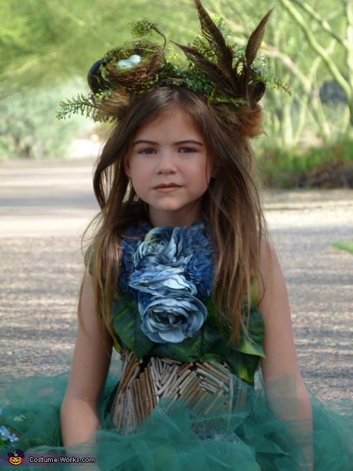 Girl's Mother Nature Costume