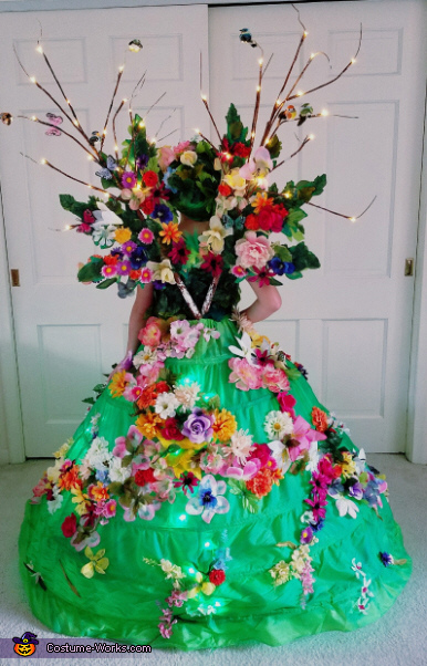 back, Mother Nature Costume