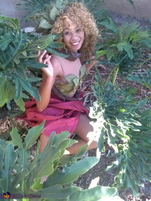 Mother Nature's Daughter Homemade Costume