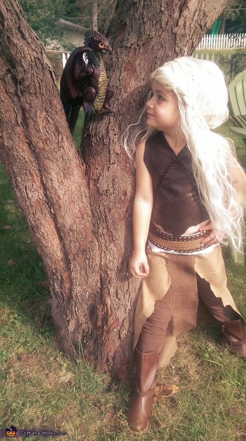 Mother of Dragons Costume