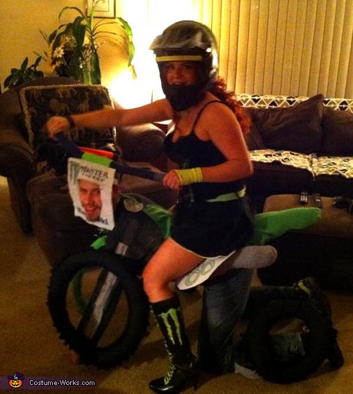 Motocross Couple Costume