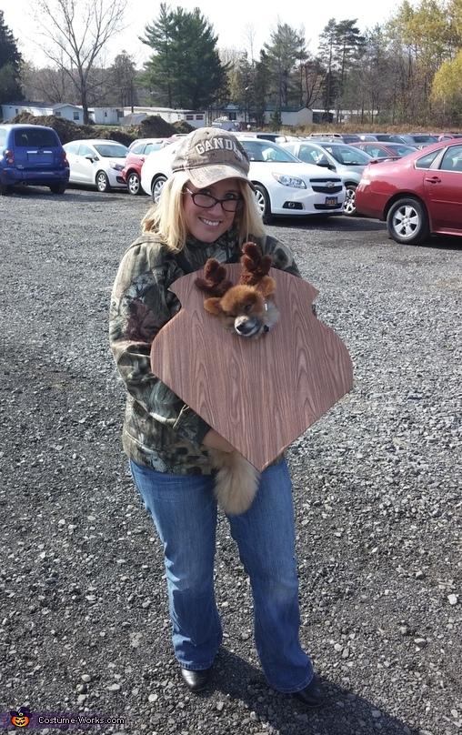 Mounted Deer Trophy Costume