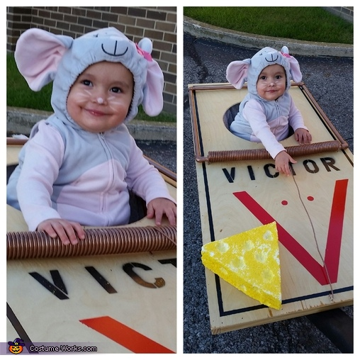 Baby Mouse Caught in a Mouse Trap Costume
