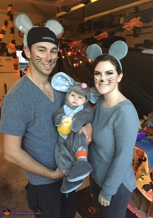 Mouse Family Costume