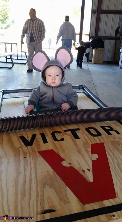 Mouse in a Mouse Trap Homemade Costume