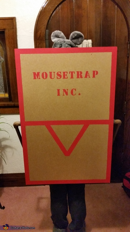 the back, Mouse in a Mousetrap Costume