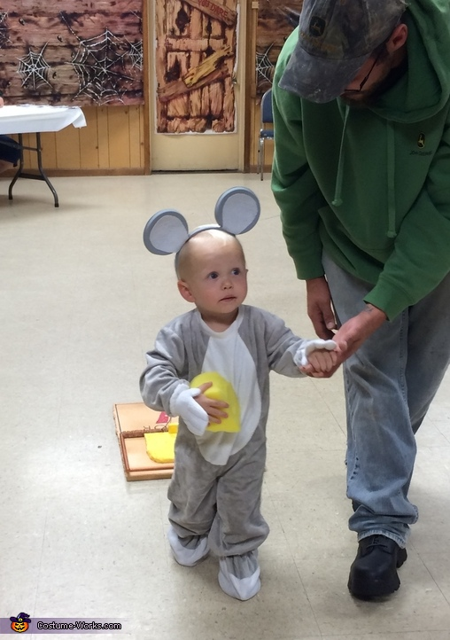 Mouse in a Mousetrap Baby Costume
