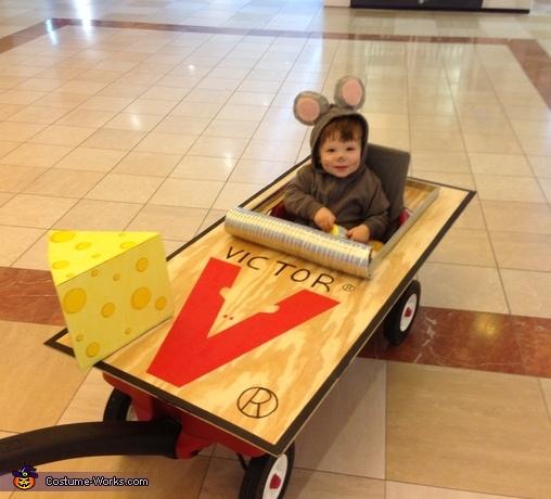 DIY Mouse Trap Costume