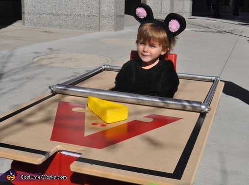 Mouse Trap - Homemade costumes for babies