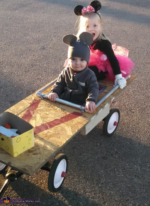 Mouse and Mouse Trap Costume