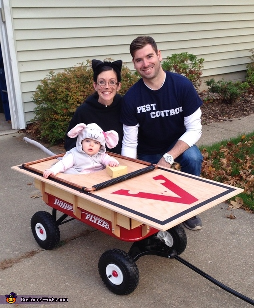 Mouse Trap Family Costume