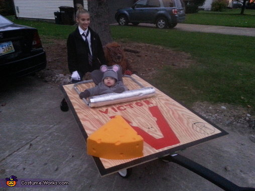 Mouse Trap Baby Costume