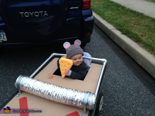 I love you cheese?, Mouse Trap Baby Costume
