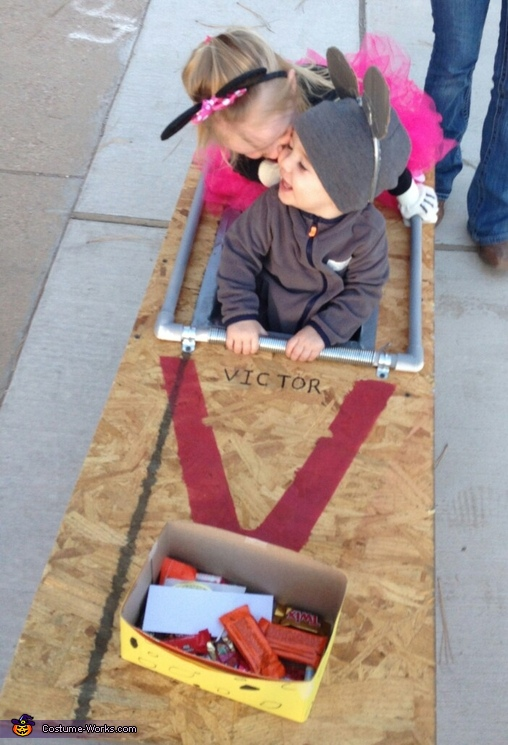 Mouse Trap Homemade Costume