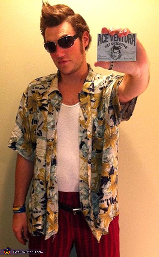 Ace Ventura Pet Detective costume, Ace Ventura Costume
