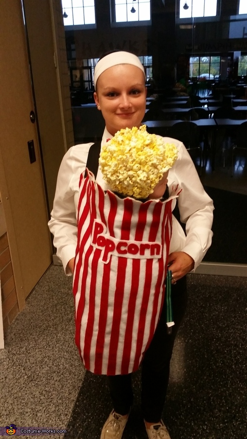 Movie Theatre Popcorn Homemade Costume