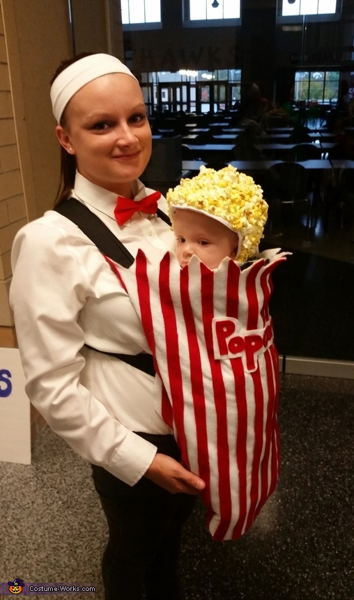 Movie Theatre Popcorn Costume