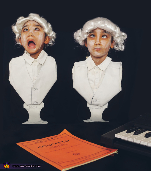 Mozart and Bach Costume