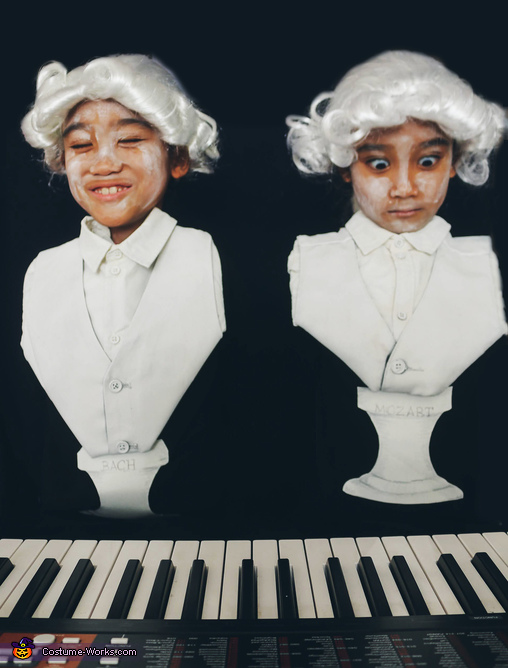 Mozart and Bach Homemade Costume