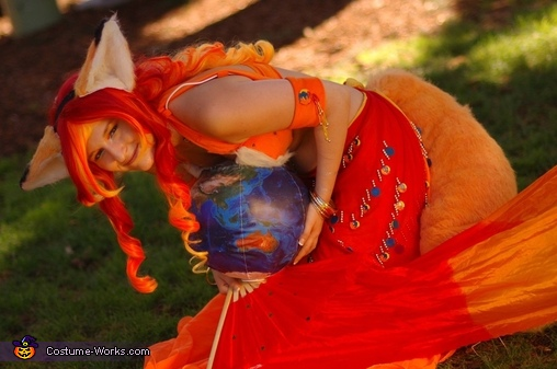 Around the world, Mozilla Firefox Costume