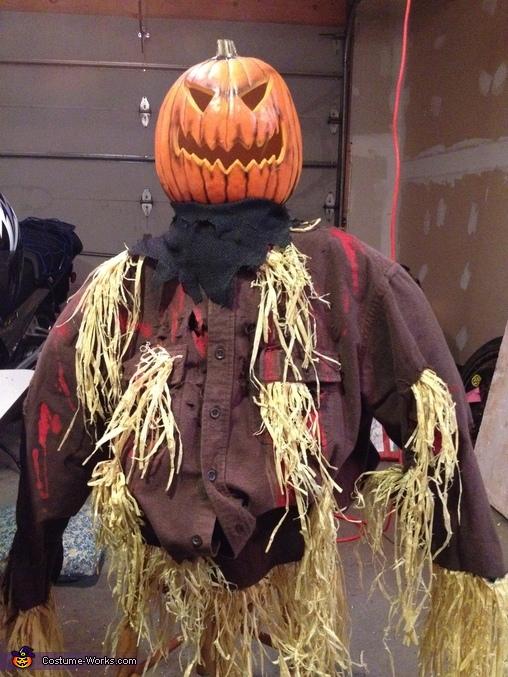 Mr & Mrs Creepy Homemade Costume