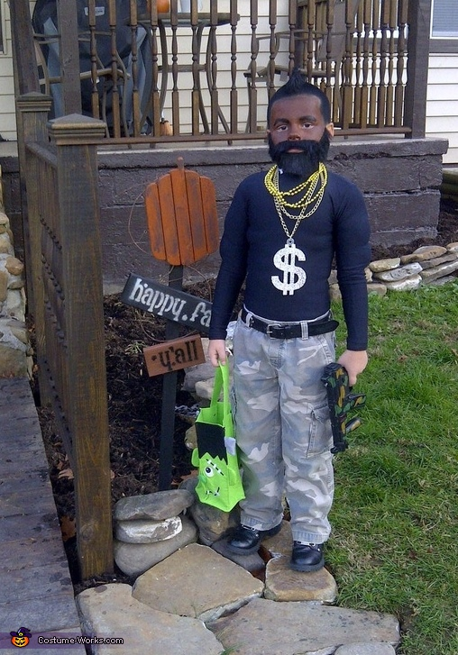 Mr. T - Homemade costumes for boys